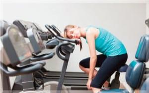 ขาดการออกกำลังกาย