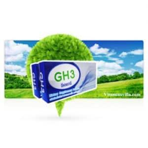 อาหารเสริมGH3 วิธีการรับประทาน